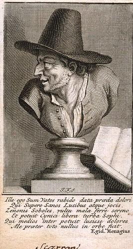 Le sonnet dirigé contre une personne non dénommée (Scarron)