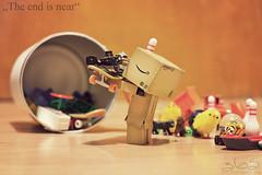 The end is near (Oliver Totzke) Tags: 2 canon toy 50mm mark f14 days ii 5d 365 usm 50 ef danbo revoltech danboard 5d2 5dmk2 5dmark2