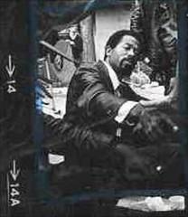 Eldridge Cleaver ca. 1969 (ghbrett) Tags: 1969 blueline au cleaver no14
