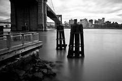 5 (TRABEAUX / PHOTOGRAPHY) Tags: nyc longexposure clouds brooklynbridge weldingglass brooklynbridgelongexposure