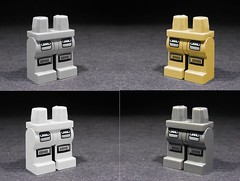 Printed Custom Space Police 3 Legs (BrickSlasher) Tags: lego space police custom printed