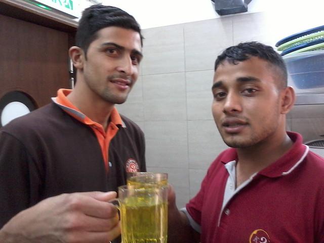 Photo of atik and beve NPAL