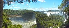 Panormica Isla San Martn - Parque Nacional Iguaz (Gaby Fil ) Tags: argentina misiones iguaz patrimoniodelahumanidad cataratasdeliguaz ph039 maravilladelmundo litoralargentino