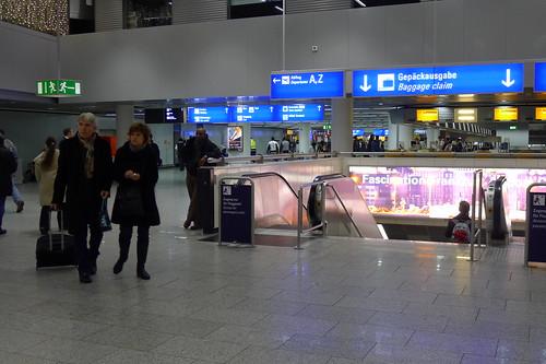 ausgang frankfurt flughafen terminal 1