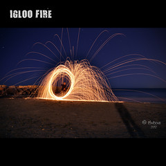 IGLOO FIRE (TioTxus) Tags: barcelona birthday park street city trip travel family blue friends light red sea party vacation portrait sky people urban blackandwhite bw espaa music food baby sun white house mountain holiday black flower color macro green bird art love film beach nature water valencia girl fashion animals architecture night clouds fun fire photography mar photo casa google spain nikon europe long playa arena fuego igloo exposicion larga iglu txus d90 oltusfotos tiotxus