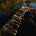 Derelict fishing platform