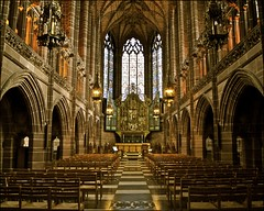 the lady chapel .... liverpool anglican cathedral (ana_lee_smith) Tags: uk travel pink windows light england detail tower tourism glass architecture liverpool lens photography design neon artist catholic colours view cathedral minolta bell britain gothic photojournalism kitlens 360 arches panoramic foundation stained architect installation gb 1978 1855mm af script ornate sir 2008 completed metropolitan 1904 anglican traceyemin paddyswigwam merseyside revival hopest highaltar 70210mm briefly gilesgilbertscott debatable stjamesgardens stjamescemetery ladychapel age22 photosof liverpoolanglicancathedral upperdukest benedicite stjamesmount beecan analeesmith ifeltyouandiknewyoulovedme sonyslta33 seniorarchitect georgebodley 331ft ultracontemorary