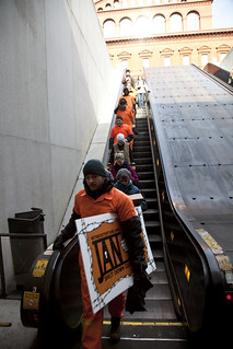 Witness Against Torture: Down the Escalator