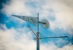 weather fain. (Omygodtom) Tags: blue sky sun man rain weather nikon wind pdx savedbythedeltemeuncensoredgrou d7000