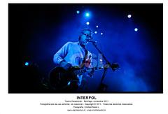INTERPOL EN CHILE 2011 (elproductor.cl - Cristian Soto L. -) Tags: chile santiago paul nikon sam daniel concierto el musica l cristian interpol soto banks kessler 2011 fogarino productor d700