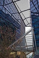 """""""Intersections"""" - La bolognina 4 Gennaio 2012 (pigianca) Tags: italy architecture italia bologna architettura offices uffici mariocucinella comunedibologna cucinella fujix100 labolognina cityofbologna"""