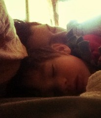 Morning (LacyChenault) Tags: sleeping love mother son tired lacy anson