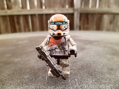 Boss (Grant Me Your Bacon!) Tags: boss starwars lego sev custom clone commando scorch fixer deltasquad