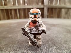 Boss (Grant Me Your Bacon!) Tags: boss starwars lego sev custom clone commando scorch fixer deltasquad