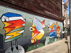 j. herndon wall (drowning in flame) Tags: chicago tortoise johnherndon violethour