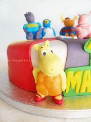 Backyardigans Cake 2/2 (Fancy Parties) Tags: cake austin pablo tasha tyrone backyardigans uniqua