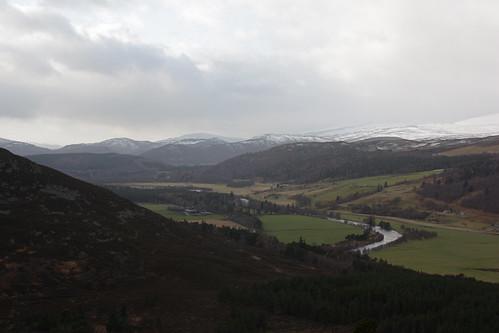 Cairngorms beyond Crathie