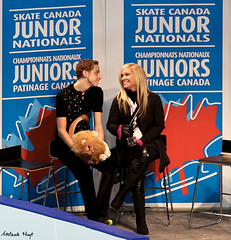 Mathieu Nepton (Melanie Heaney) Tags: men sports action coaching figureskating kissandcry 2011canadians mathieunepton