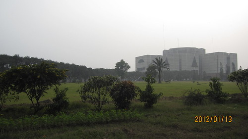 Parlament house in Dhaka