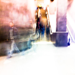 Dagens foto - 101: I'm not down (petertandlund) Tags: street city shadow man color silhouette subway square stair shadows sweden stockholm dream dreamy 365 sthlm 08 tunnelbana tcentralen norrmalm 101365