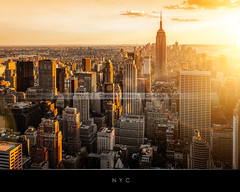 New York (Beboy_photographies) Tags: new york sunset newyork building de soleil state manhattan coucher jour ciel empire soir vue hdr ville contrejour contre coucherdesoleil arienne