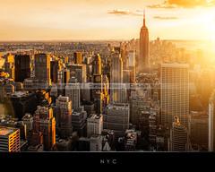 New York (Beboy_photographies) Tags: new york sunset newyork building de soleil state manhattan coucher jour ciel empire soir vue hdr ville contrejour contre coucherdesoleil arienne