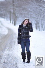 """Kelsey (Andrew """"Shutter"""") Tags: road trees winter light portrait snow cute beautiful fashion scarf vintage photography model nikon pretty dof natural boots bokeh modeling fashionphotography pennsylvania snowy f14 country january 85mm naturallight andrew depthoffield pa portraiture noedit sutter snowing kelsey nikkor curlyhair nikondigital countryroad 2012 d90 portraitphotography fashionportrait winterportrait nikkor85mmf14 nikond90 winterphotoshoot pennsylvaniawinter january2012 andrewsutter andrewsutterphotography"""