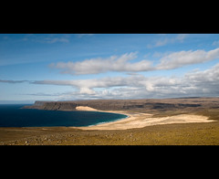 Endless Westfjords (Danil) Tags: ocean beach landscape bay iceland europe daniel atlantic landschap westfjords breidavik bosma ijsland hvallatur latrabjarg