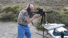 jim with AR-15 at Cabazon Range_4868