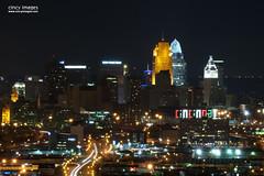 Cincinnati Skyline from Price Hill (cincyimages) Tags: lighting ohio sky church night midwest colorful glow view cincinnati scenic hills vista cincinatti ohioriver cinci cincinnatiskyline cinti cincy queencity proctorgamble lightstream carewtower pnctower queencitysquare cincyimages greatamericantower