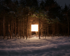 (Benoit.P) Tags: wood winter light shadow wild white inspiration snow canada color art nature forest square landscape photography james george bright benoit quebec montreal fineart dream poetic 8x10 clean vision lanscape alternative rousse paille turrell instalation ecologic minimaliste ecologie troisrivires fames benoitp