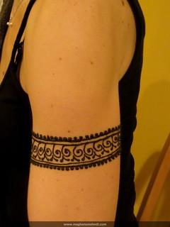 Simple arm cuff