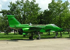 Racing green? (crusader752) Tags: green nikon august 2006 coolpix jaguar gr1 grounds proving chromate bruntingthorpe engineless e8800 exraf coldwarjetscollection bacsepecat xz3828908m