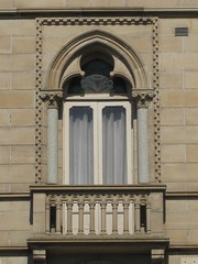 Balcony Detail of the Former National Mutual Insurance Company - Corner Sturt and Lydiard Streets, Ballarat (raaen99) Tags: nationalmutualinsurancecompany nationalmutualinsurance insurancecompany company commercialbuilding commercialarchitecture busines