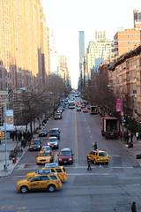 (@jbtaylor) Tags: railroad newyork manhattan cab taxi taxis meatpackingdistrict cabs streetscape highline taxicab urbanpark