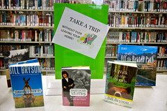 Take a Trip (Lester Public Library) Tags: wisconsin library libraries librarian librarians bookdisplays lpl libslibs librariesandlibrarians manitowoccounty 365libs tworiverswisconsin lesterpubliclibrary readdiscoverconnectenrich wisconsinlibraries