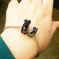 """Bunnies - on a wrist • <a style=""""font-size:0.8em;"""" href=""""https://www.flickr.com/photos/37516896@N05/6760520693/"""" target=""""_blank"""">View on Flickr</a>"""
