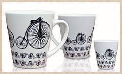 Caneca Biciclo Retr (Acervo-Pessoal) Tags: mugs arte mug decorao caneca decoracao biciclo canecaestampada bicicloretr