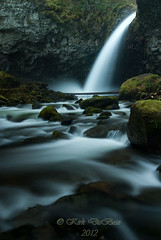 Oneonta (Kirk DuBose) Tags: creek waterfall nikon stream pacificnorthwest d200 columbiarivergorge middleoneonta