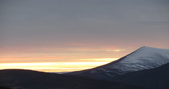 Ben Rinnes    Explore 29th Jan 2012 (Misty Jane) Tags: sunset sky snow scotland hill benrinnes worldwidelandscapes