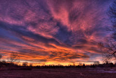 Sunrise 1-29-12 (Thad Roan - Bridgepix) Tags: park winter sunrise landscape colorado denver littleton 201201