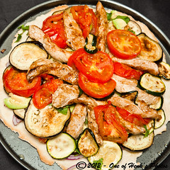 Pizza (vk2gwk - Henk T) Tags: food chicken pizza
