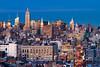 Midtown Manhattan in Blue (RBudhu) Tags: newyorkcity manhattan empirestatebuilding gothamist chryslerbuilding curbed newyorklifebuilding gawker bankofamericatower 4timessquare metropolitanlifetower