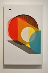 20120202_shape_study_circle (derek.bruno) Tags: color art paint panel walnut shapes forms 2d vector enamel