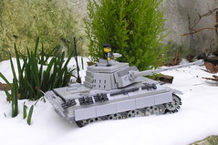 Battle of the Bulge (Woody_BE) Tags: world war tank lego battle ii panther bulge brickarms brickmania