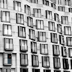 Earl Grey's coffee break (Arni J.M.) Tags: windows building berlin glass coffee architecture germany nikon looking balcony drinking coffeebreak earlgrey d80