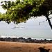 Sao Tomé town beach.