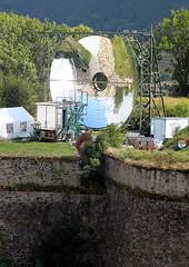 05.09.2011: Ausflug nach Mont-05.09.2012: Echsen in der Festungststadt á la Vauban Louis. Der Festungststadt á la Vauban gepaart mit einem Sonnenofen.