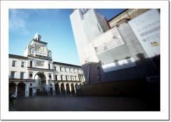 Crema -Piazza del Duomo- ;/) pinhole (schyter) Tags: kodak pinhole epson v600 c41 stenopeica tetenal colortec ektar100 holga120wpc