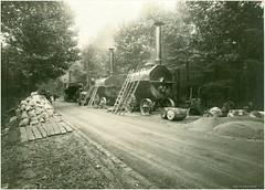 Deutschland. Frankfurt am Main  Germany Year  ~ 1920 ? (Morton1905) Tags: germany deutschland am frankfurt main unknown dampfmaschine